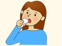 消泡剤を飲む